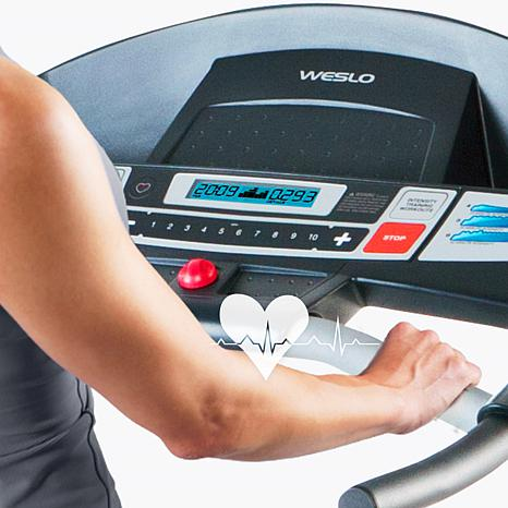 Weslo Cadence G 5.9 Treadmill settings.