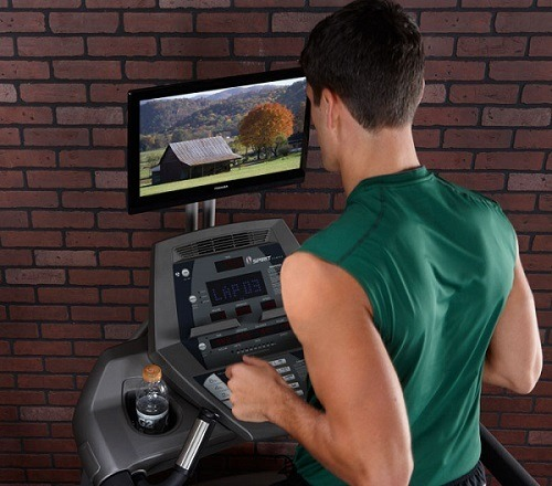 Treadmill Accessories TV Holder.