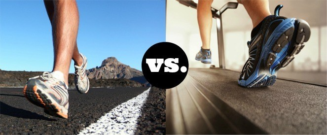 Treadmill vs outdoor running.