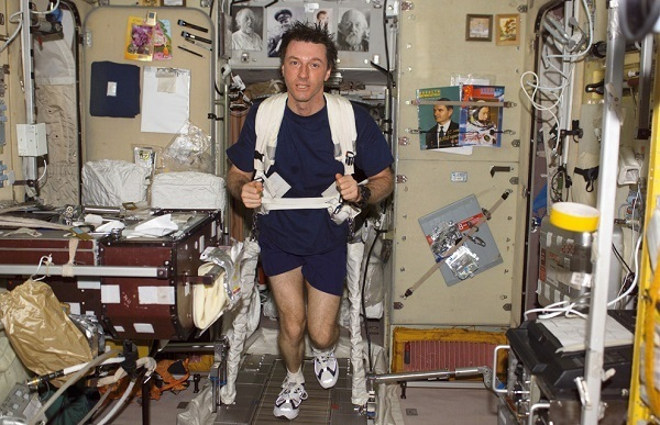 Space Station Treadmill
