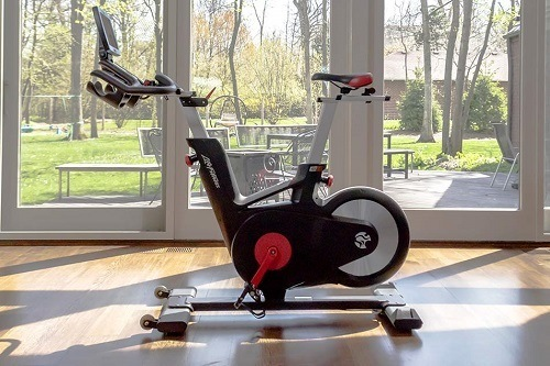 Exercise Bike In Living Room